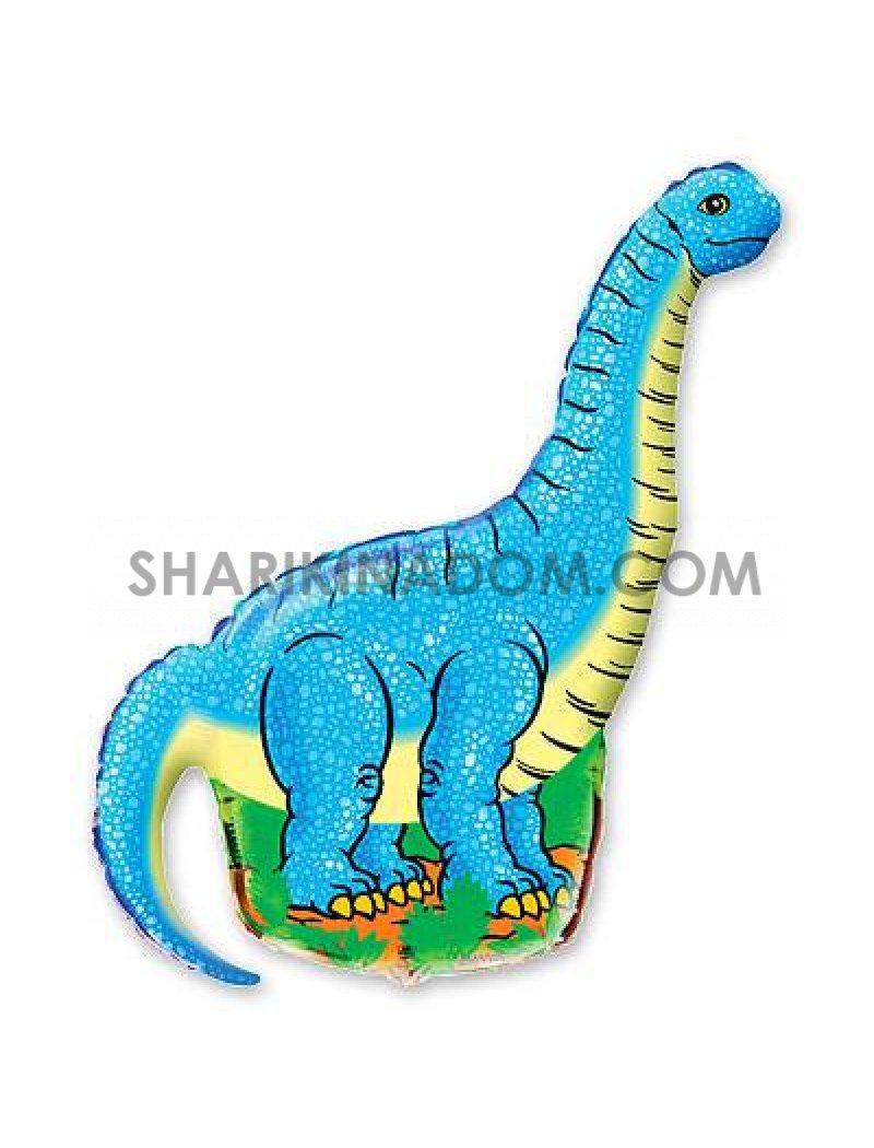 Динозавр Голубой - 78 см