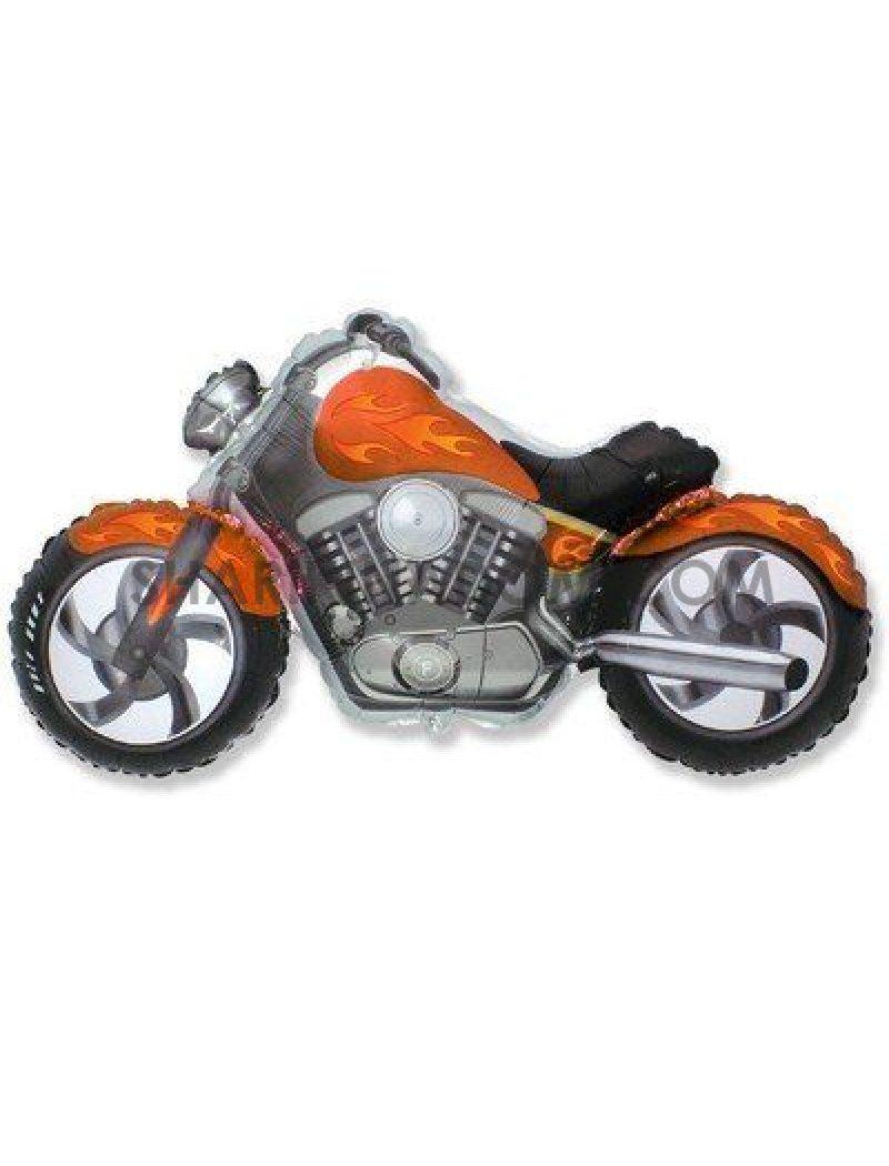 Байк помаранчевий - 100 см