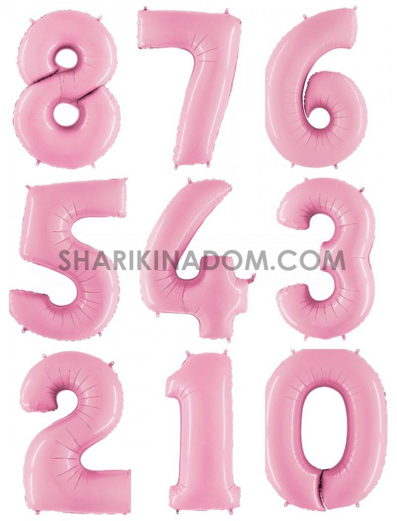 Цифри Рожеві