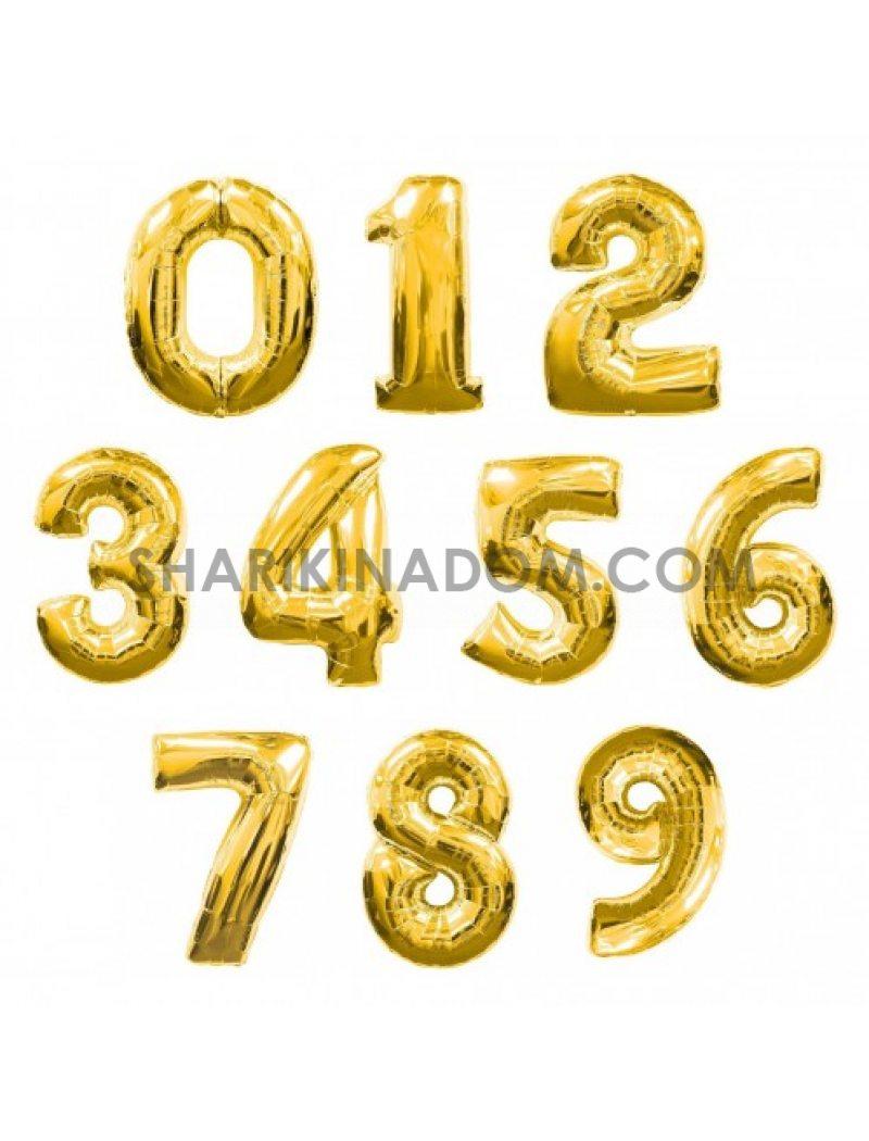 Цифри Золото