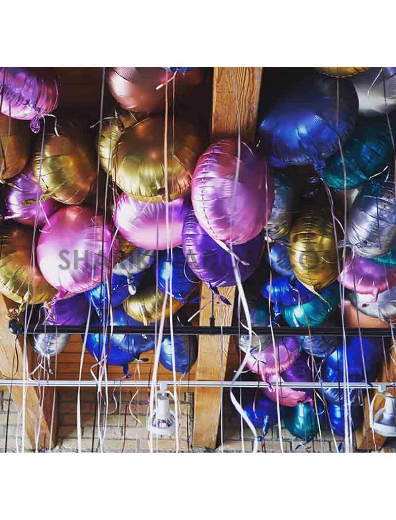 Набор фольгированных шаров под потолок