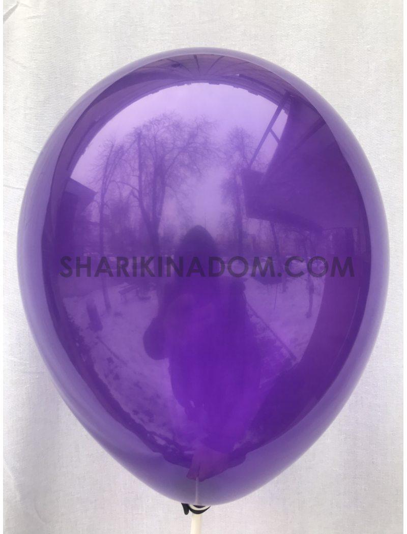 Фиолетовый (прозрач) 25 см