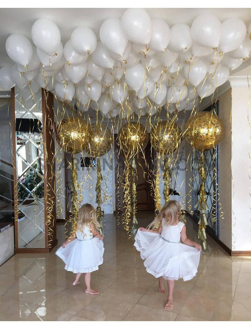 Gold &white - 155 шт