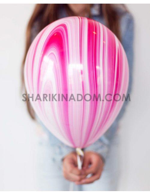 Агат рожевий - 30 см