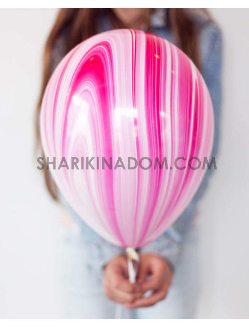 Агат розовый - 30 см
