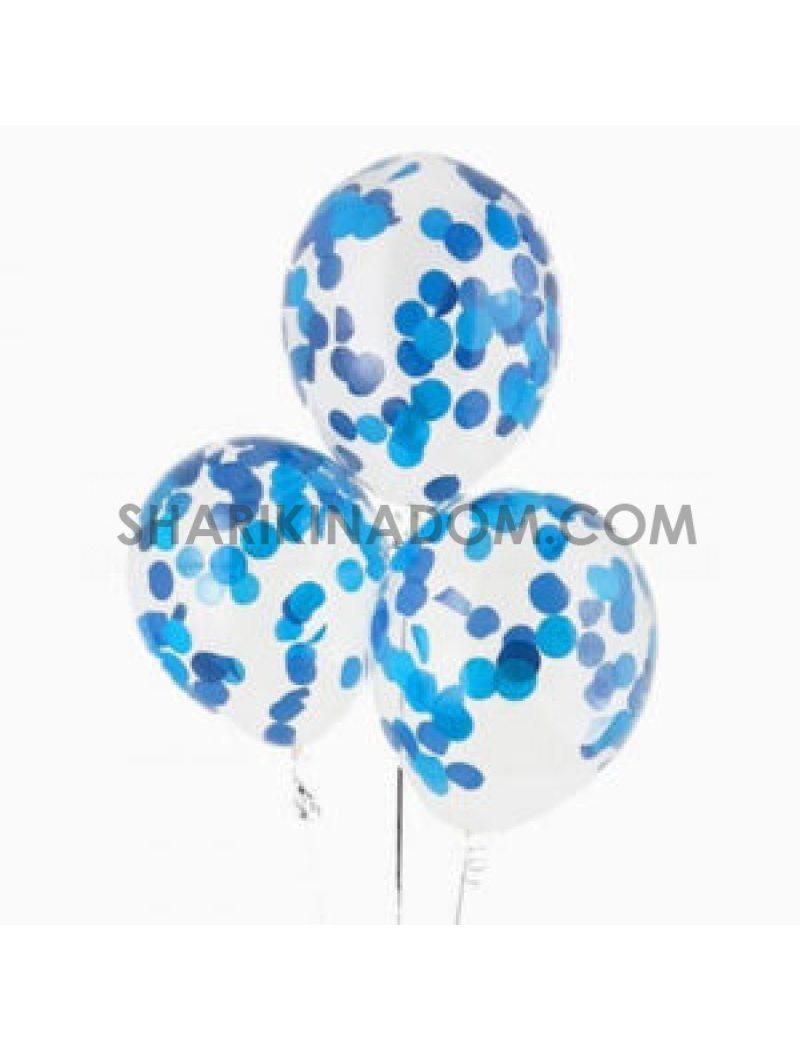 Блакитно-сині 33 см