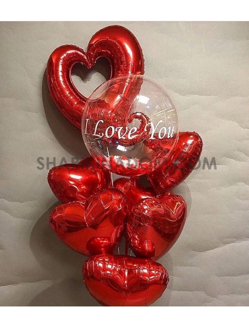 """Сет """"love you"""" - 9 шт"""