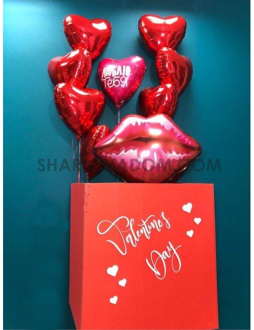 """Коробка """"Valentine Day"""" - 9 шт"""