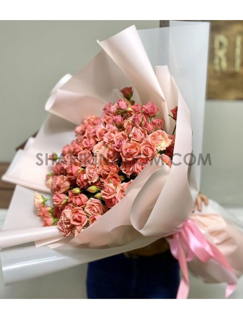 "Кустова роза ""Розетта"" - 51 шт"