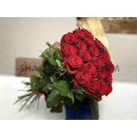 """Висока роза """"Гран-прі"""" - 80 см -21 шт"""
