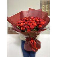 Букет Троянд Fiorella - 51шт, 60см